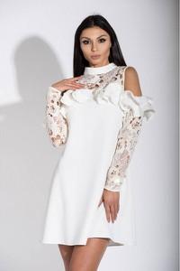 Sukienka La Perla w stylu casual z długim rękawem