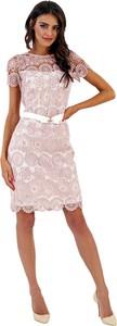 Sukienka Marselini z krótkim rękawem