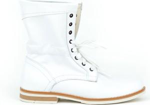 Botki Zapato ze skóry sznurowane
