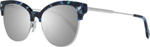 Niebieskie okulary damskie Dsquared2