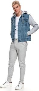 Kurtka Top Secret krótka z tkaniny w stylu casual