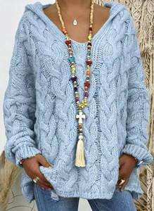 Niebieski sweter Sandbella
