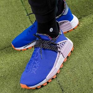 c36fd7a3e43fb Niebieskie buty sportowe Adidas sznurowane