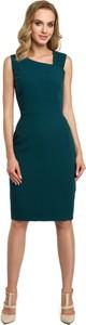 Sukienka MOE ołówkowa bez rękawów midi