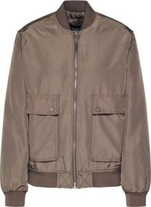Zielona kurtka Vero Moda krótka w stylu casual