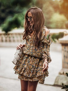 Sukienka Cocomore w stylu casual z długim rękawem mini
