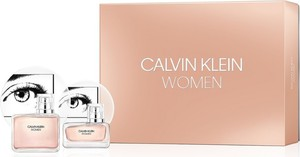 Calvin Klein, Women, zestaw: woda perfumowana, spray, 100 ml + woda perfumowana, 30 ml