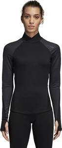 Czarny t-shirt Adidas z plaru