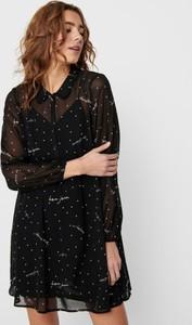 Czarna sukienka WARESHOP