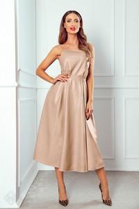 Sukienka Ptakmoda.com wyszczuplająca na ramiączkach