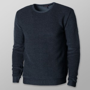 Sweter Willsoor w stylu casual z okrągłym dekoltem