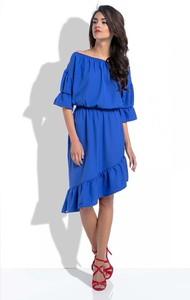 Niebieska sukienka Fobya hiszpanka