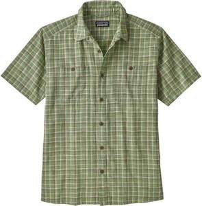 Zielona koszula Patagonia w stylu casual