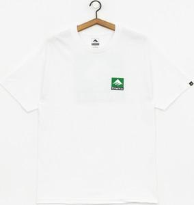 T-shirt Emerica z bawełny z krótkim rękawem