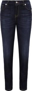 Jeansy Twinset z jeansu w street stylu