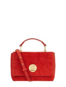 Czerwona torebka Coccinelle średnia