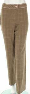 Brązowe spodnie Paul Brial w stylu klasycznym