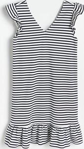 Sukienka Reserved w stylu casual z dekoltem w kształcie litery v na ramiączkach