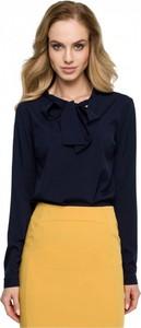 Granatowa bluzka Style
