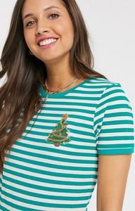 T-shirt Brave Soul z okrągłym dekoltem w stylu casual z krótkim rękawem