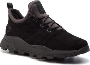 Buty sportowe Timberland sznurowane ze skóry