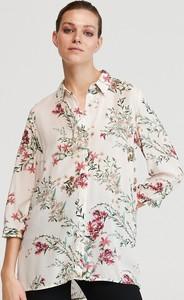 Koszula Reserved z kołnierzykiem w stylu casual