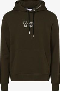 Zielona bluza Calvin Klein z bawełny w młodzieżowym stylu