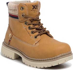 Pomarańczowe buty dziecięce zimowe XTI