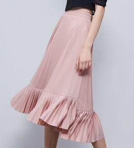 Różowa spódnica Reserved