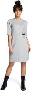 Sukienka Be z okrągłym dekoltem z krótkim rękawem