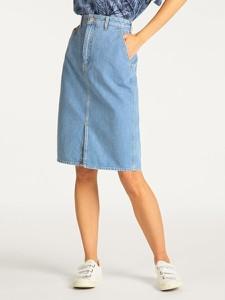 Spódnica Lee midi w stylu casual z jeansu
