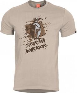 T-shirt Pentagon z bawełny z krótkim rękawem