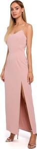 Sukienka Made Of Emotion maxi na ramiączkach z dekoltem w kształcie litery v