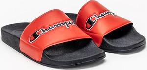 Czerwone buty letnie męskie Champion