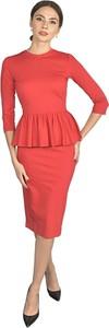 Czerwona sukienka Kasia Miciak design