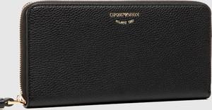 Czarny portfel Emporio Armani