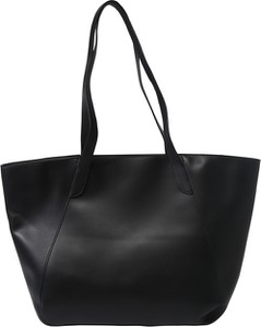 Czarna torebka Pieces na ramię duża