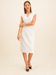 Sukienka DKNY bez rękawów prosta