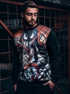 Bluza Marvel z żakardu