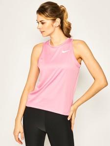 T-shirt Nike w sportowym stylu z nadrukiem z okrągłym dekoltem
