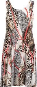 Sukienka Summer Time mini bez rękawów rozkloszowana