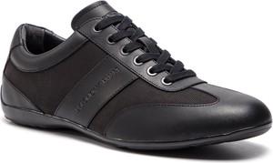 Buty sportowe Emporio Armani w sportowym stylu sznurowane