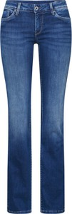 Jeansy Pepe Jeans z jeansu w street stylu