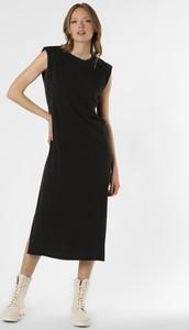 Sukienka Only midi bez rękawów z okrągłym dekoltem