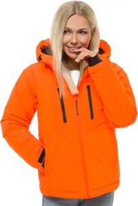 Pomarańczowa kurtka OZONEE GIRLS krótka