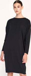 Czarna sukienka Byinsomnia mini prosta