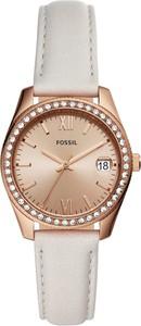 Zegarek FOSSIL - Scarlette ES4556 White/Gold