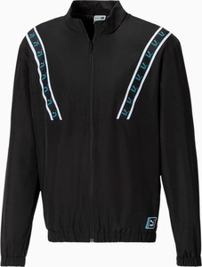 Czarna kurtka Puma w sportowym stylu krótka