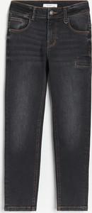 Czarne jeansy dziecięce Reserved dla chłopców