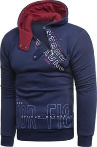 Granatowa bluza Risardi